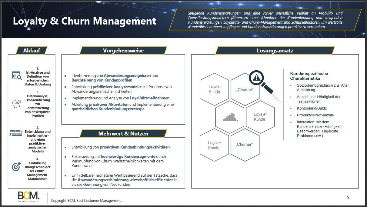 Loyalty & Churn Management